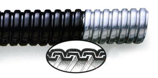 Cấu tạo ống ruột gà thép bọc nhựa PVC