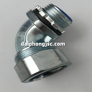 Đầu nối ống ruột gà với hộp điện loại vuông 1