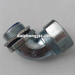 Đầu nối ống ruột gà với hộp điện loại vuông 6