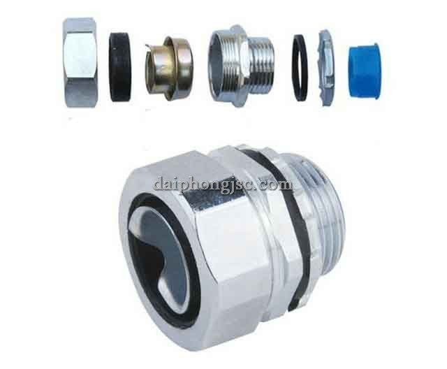 Phụ kiện ống luồn dây điện, ống ruột gà lõi thép 1