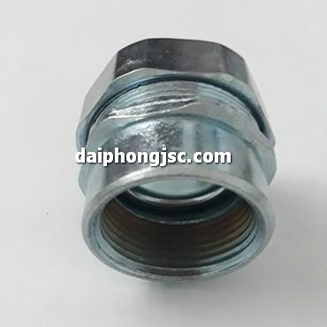 Đầu nối ống ruột gà lõi thép với ống thép IMC