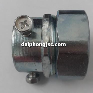 Đầu nối ống ruột gà lõi thép với ống thép EMT